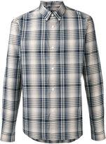 A.P.C. button down check shirt