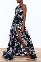 Yumi Kim Floral Silk Dress
