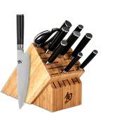 Shun Classic 10-Piece Chef's Knife Block Set