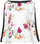 Smythe floral shift blouse