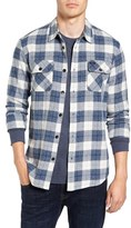RVCA Men's Lowland Plaid Flannel Shirt