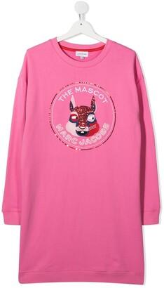 Little Marc Jacobs TEEN The Mascot sweatshirt dress