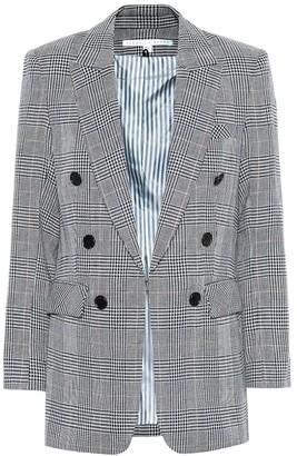 Veronica Beard Bexley Dickey linen-blend blazer