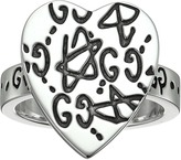 Gucci Ghost Heart Ring Ring