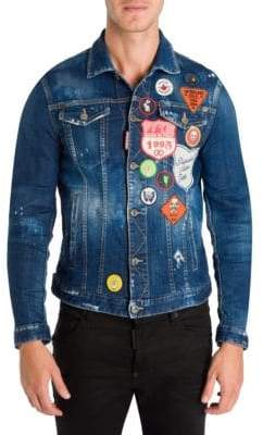 DSQUARED2 Dan Distressed Jacket