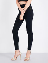 Good American Side zip skinny jeans