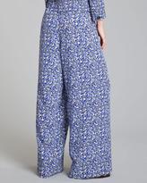 Marni Linen-Blend Wide-Leg Pants