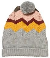 Chloé Knitted Geometric Pom Pom Hat