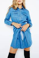 MinkPink Jericho Shirt Dress