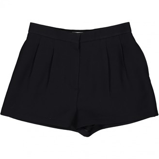 Christian Dior Black Wool Shorts for Women