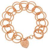 Betsey Johnson Circle Link Bracelet