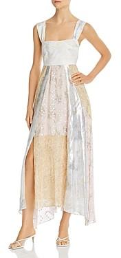 Rebecca Taylor Mixed Prints Dress