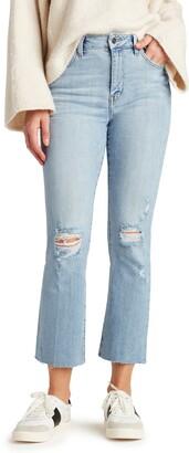 The Stiletto High Waist Crop Bootcut Jeans