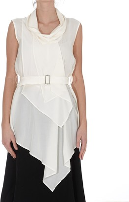 J.W.Anderson Draped Neck Sleeveless Top