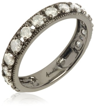 Annoushka White Gold Dusty Diamonds Eternity Ring Size P