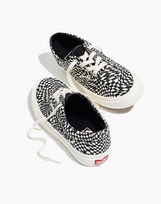 Madewell Vans Unisex Era SF Lace-Up Sneakers in Warped Checkerboard