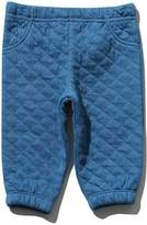 M&Co Quilted jacquard jogger
