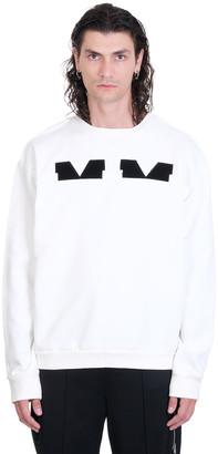 Maison Margiela Sweatshirt In White Cotton