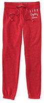Aeropostale Womens Aero Eighty Seven Classic Cinch Sweatpants