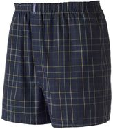 Jockey Big & Tall 2-pack Classic Plaid Full-Cut Woven Boxers