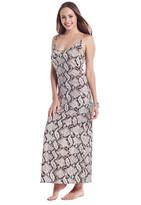 Debbie Katz Maconda - 2216 Snake Print Maxi Dress