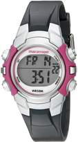 Timex Marathon by Women's T5K646 Digital Mid-Size Resin Strap Watch