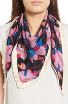 Echo Women's Tuileries Garden Silk Triangle Scarf