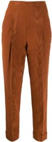 Romeo Gigli Pre Owned 1997 high rise cropped trousers