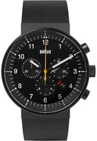Braun - Bn0095 Rubber And Stainless Steel Watch