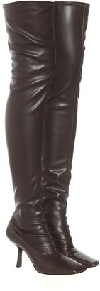 Jimmy Choo Mire 85 over-the-knee boots