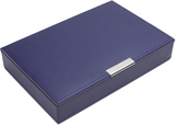 Wolf Medium Stackable Tray with Lid, Purple