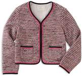 Kate Spade Girls' Tweed Jacket - Little Kid