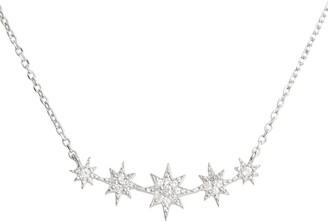 Anzie North Star Mini Bar Pendant Necklace