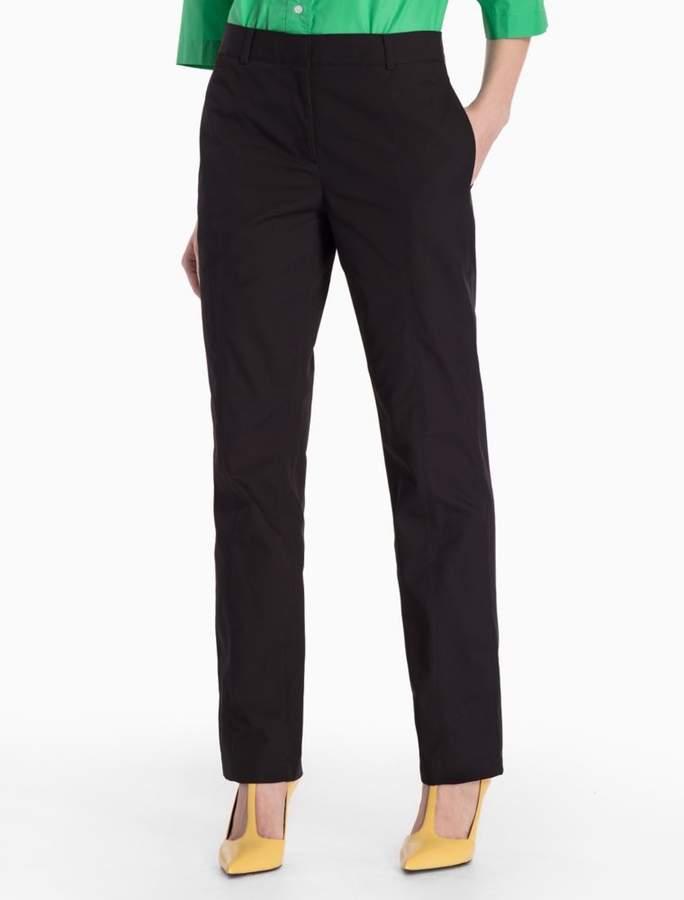 Calvin Klein cotton woven trench pants