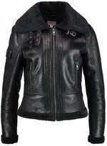 comma Casual Identity Faux leather jacket black