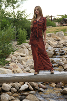 Shabby Apple Adora Striped Maxi Dress