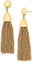 BaubleBar Tassel Link Drop Earrings