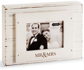 Mud Pie Wedding Mr. & Mrs. Block Picture Frame