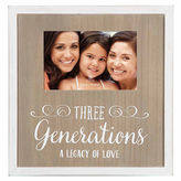 Asstd National Brand Burnes of Boston 3 Generations Picture Frame