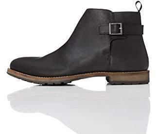 find. Men's leather boots, Black (Black), (43 EU)