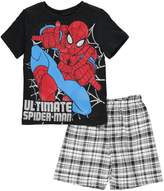 "Spiderman Little Boys' Toddler ""Ultimate 2-Piece Outfit"