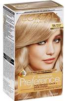 L'Oreal Superior Preference Permanent Hair Color, 9A Light Ash Blonde