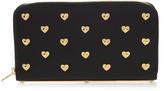 Sophie Hulme Rosebery heart-embellished leather wallet