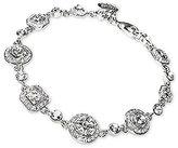 Carolee Silver-Tone Multi-Cut Crystal Bracelet