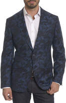 Robert Graham Porthgain Camouflage Wool-Cashmere Jacket
