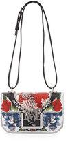 Alexander McQueen Insignia Printed Flap Crossbody Bag, Multi