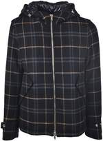 Dondup Checked Hooded Jacket