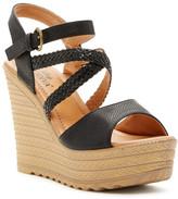 Godiva Platform Wedge Sandal