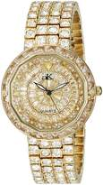 Adee Kaye Women's AK2425-LG TRILLION STAR COLLECTION Analog Display Analog Quartz Gold Watch
