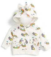 Infant Girl's Rosie Pope Unicorn Hoodie
